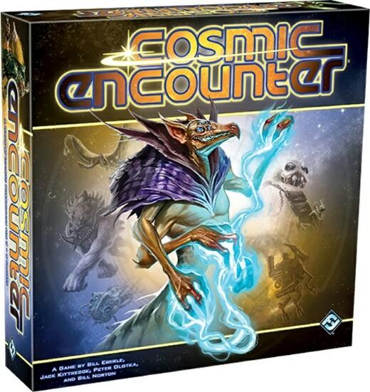 Portada de la eedición 42 aniversario de Cosmic Encounter