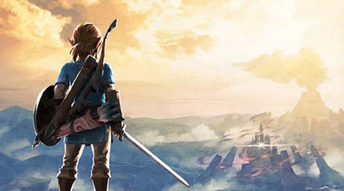 Ilustración del juego Breath of The Wild