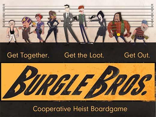 Portada de Burgle Bros