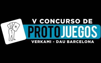 Logotipo del V Concurso de ProtoJuegos DAU Barcelona – Verkami