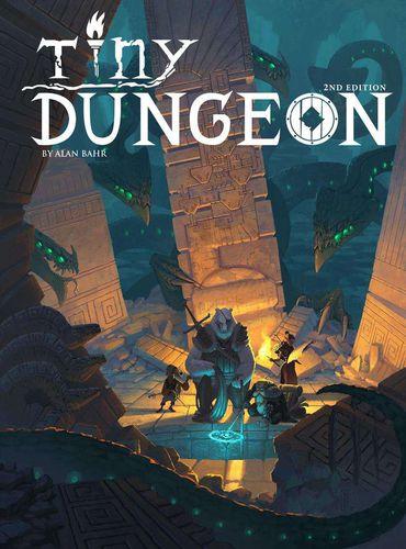 Portada de la segunda edición de Tiny Dungeon