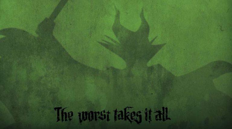 Detalle de la portada de Villainous
