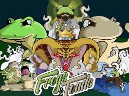 Ilustracion de presentacion de Frogs and toads