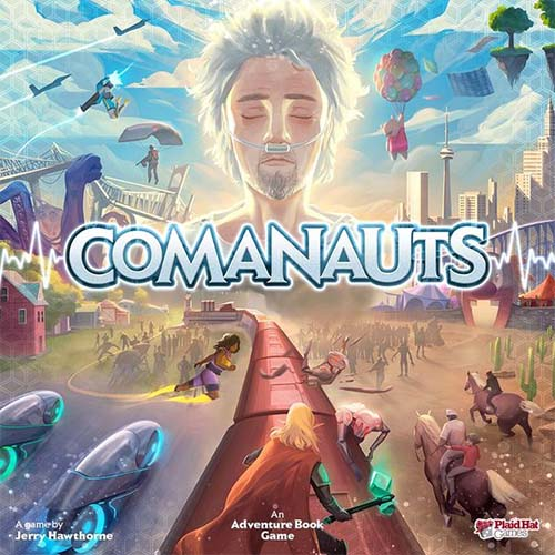 Portada de comanauts de Plaid hat games
