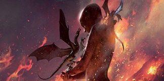 Arte de la portada de Madre de Dragones
