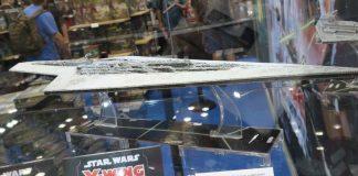 Miniatura del super destructor estelar para star wars armada
