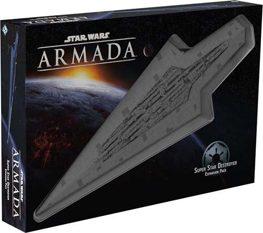 Portada de la expansión super destructor estelar para star wars armada