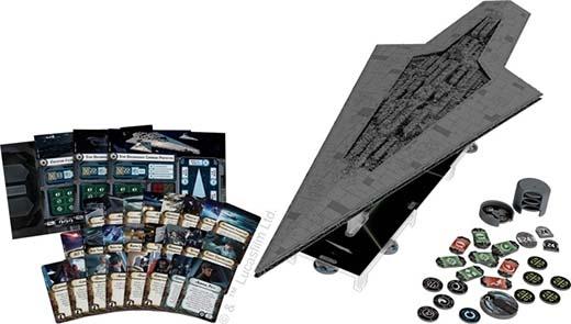Componentes del super destructor estelar para star wars armada