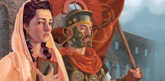 Ilustración de la portada de Pandemic: Rise of Rome