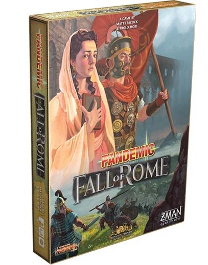 Portada de Pandemic: Fall of Rome