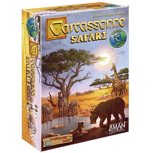 Portada de Carcassonne: Safari