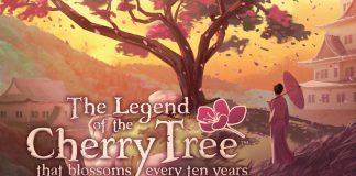 Detalle de la portada de Cherry tree
