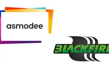 Logotipos de Asmodee y Blackfire Entertainment