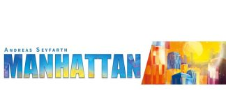 Logotipo del juego de mesa Manhattan