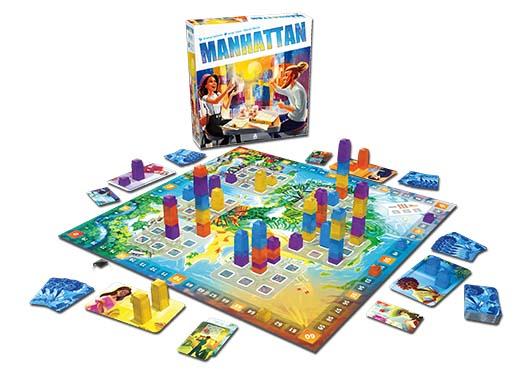 Nueva edición del juego de mesa Manhattan