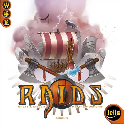 Portada de Raids