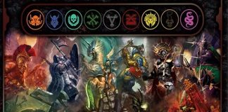Arte de Warhammer: Age of Sigmar board game, The Rise and Fall of Anvalor