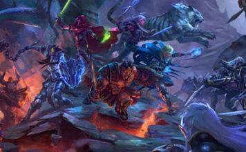 Detalle de la portada de Sword & Sorcery Ancient Chronicles