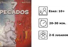 Datos del juego de mesa 7 pecados