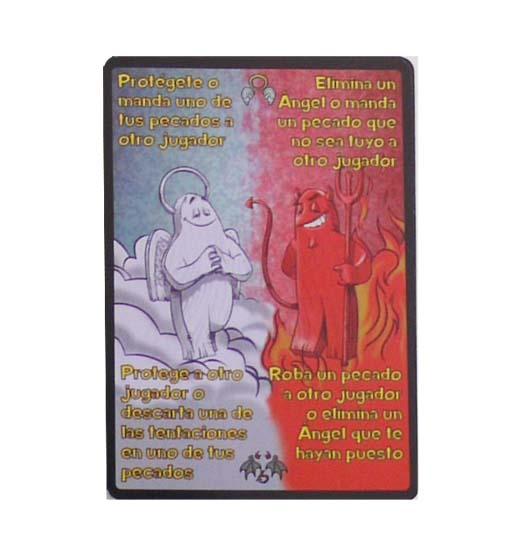 Carta de angeles y demonios de 7 pecados