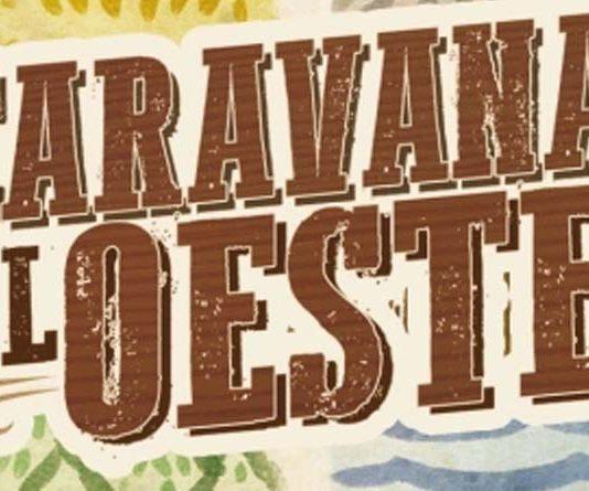 Logotipo de Caravana al oeste