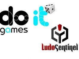 Logotipos de Do It games y Ludosentinel