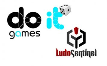 Logotipos de Do It games y Ludosentinel