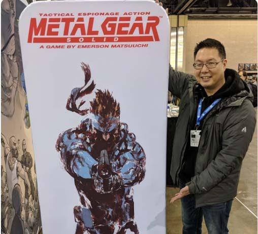 Imagen del próximo juego de MEtal GEar Solid y su autor Emerson Matsuuchi