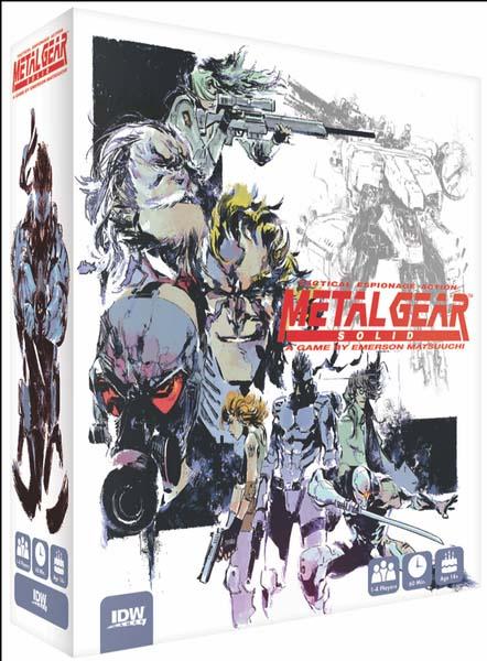 Portada del juego de mesa de Metal Gear Solid