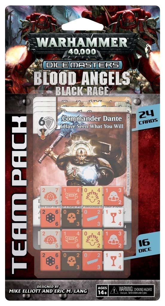 Expansión de los Blood Angels para Warhammer 40,000 Dice Masters
