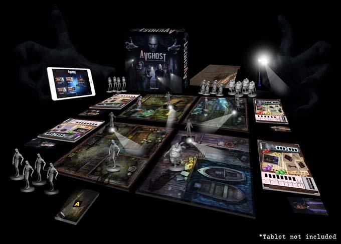 Componentes de AVGhost: Paranormal Investigation