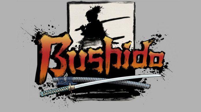 Logotipo del juego de mesa Bushido