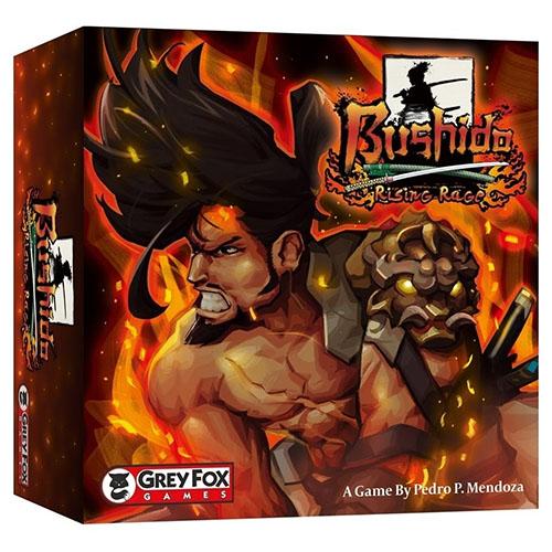 Portada de la expansión bushido: burning Rage