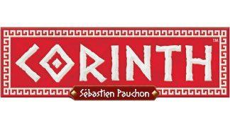 Logotipo del juego de mesa Corinth