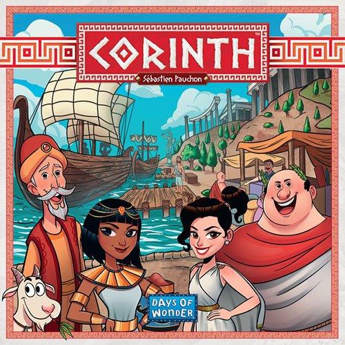 portada del juego de mesa Corinth