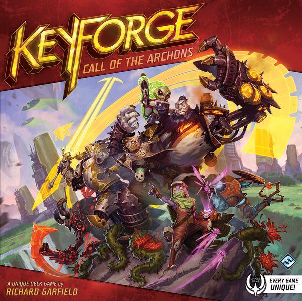 Portada de Keyforge