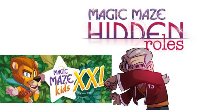 Magic Maze Kids XXL y Magic Maze Hidden Roles