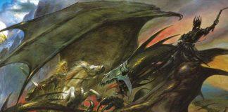 Arte de la portada de la guerra del anillo
