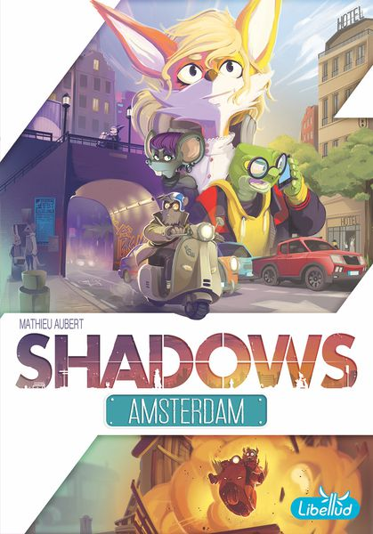Portadad e Shadows Amsterdam