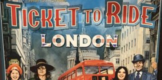 Portada provisional de Ticket to ride London