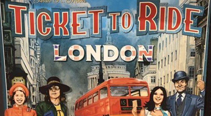 Portada provisional de Ticket to ride London