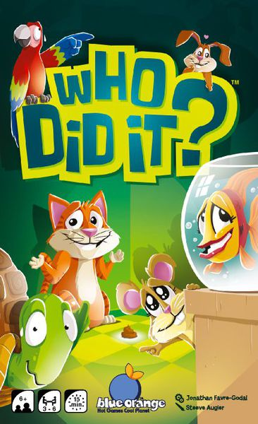 Portada de who did it?