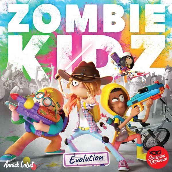 Portada de Zombie Kidz Evolution