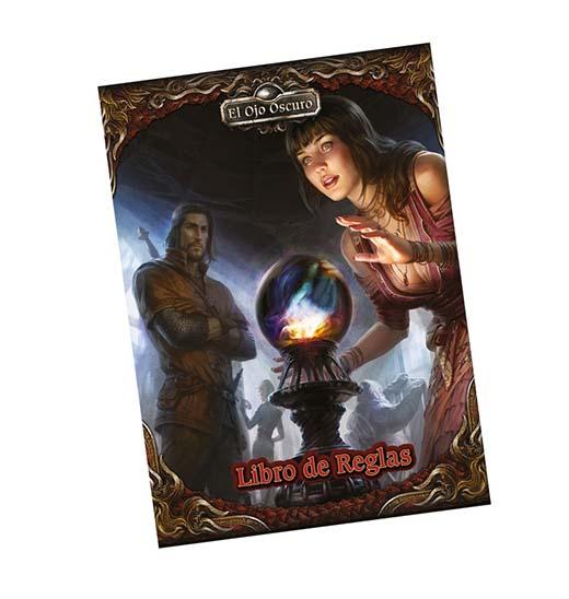 portada del libro de reglas de el ojo oscuro