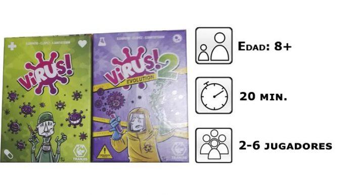 Datos de Virus y Virus 2
