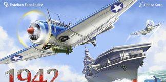 Portada del juego de mesa 1942 U.S.S. Yorktown