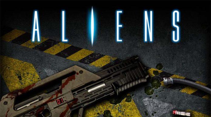Aliens: Another Glorious Day in the Corps detalle de la portada