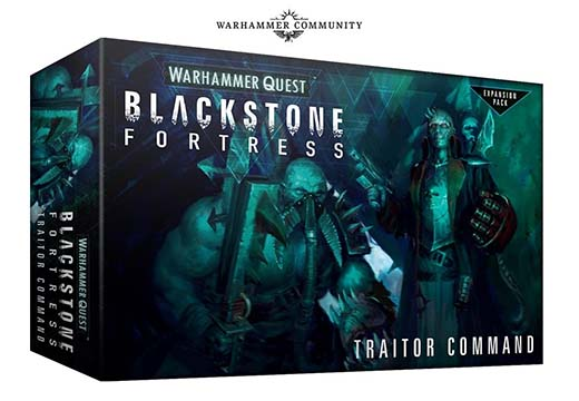 Blackstone Fortress Traitor Command