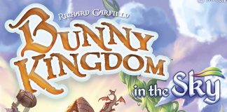 Detalle de la portada de Bunny Kingdom: In the sky