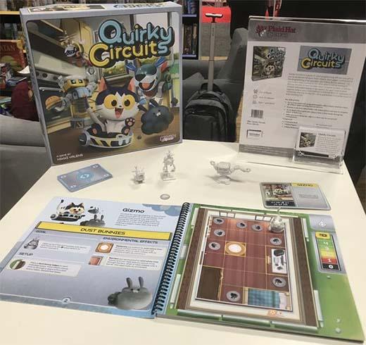 Componentes de Quirky Circuits
